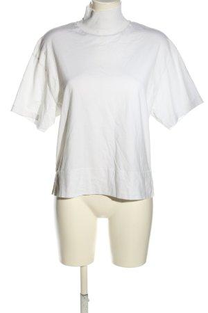 Acne Studios Koszulka z golfem biały W stylu casual