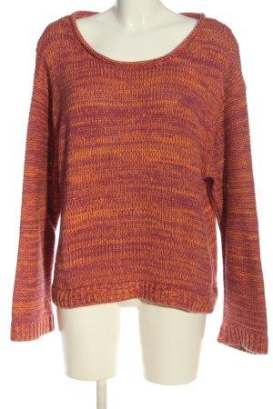 Acne Studios Sweter z okrągłym dekoltem różowy-bladożółty W stylu casual