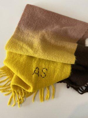 Acne Studios Sciarpa di lana multicolore