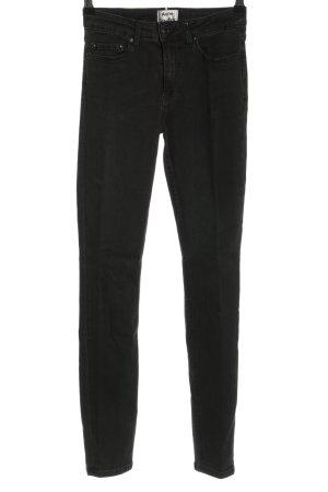 Acne Studios Jeansy o obcisłym kroju czarny W stylu casual
