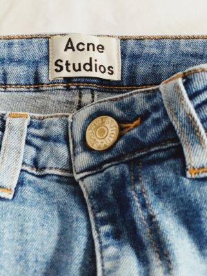 Acne Jeans skinny bleu azur