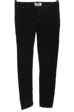 Acne Studios Dopasowane jeansy czarny W stylu casual