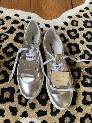 Acne Studios Sneaker Adriana Metallic in Gold 39 Turnschuhe
