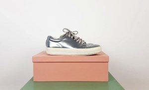 Acne Sneaker stringata argento-bianco Pelle