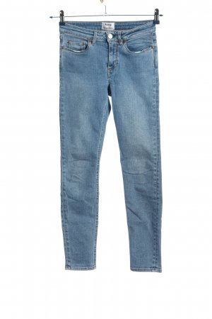 Acne Studios Straight-Leg Jeans blau Casual-Look