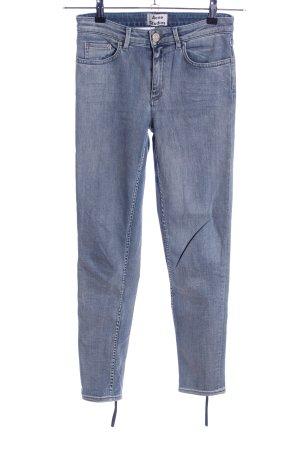 Acne Studios Spodnie ze stretchu niebieski W stylu casual