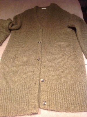 Acne Knitwear green grey mohair