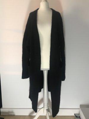 Acne Studios Gebreide jas zwart Mohair