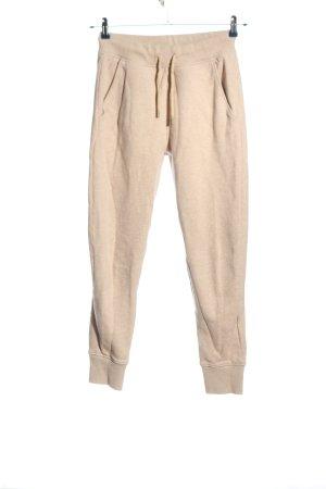 Acne Studios Pantalone fitness crema stile semplice