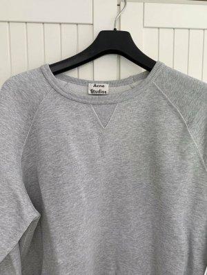 Acne Studios Długi sweter jasnoszary