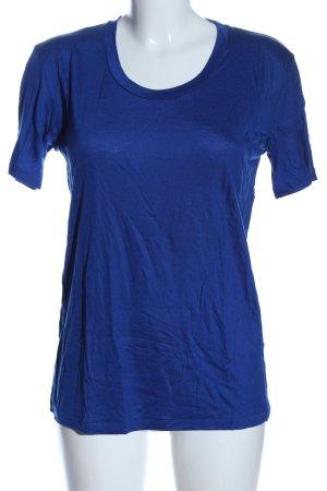 Acne Studios T-shirt niebieski W stylu casual