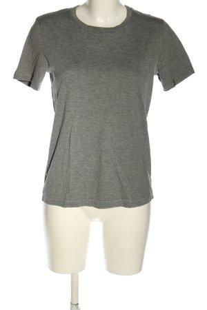 Acne Studios T-shirt jasnoszary Melanżowy W stylu casual