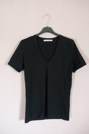 Acne T-shirt noir coton