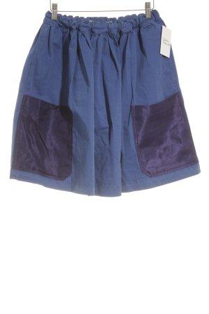 Acne Tellerrock blau-dunkelblau Casual-Look