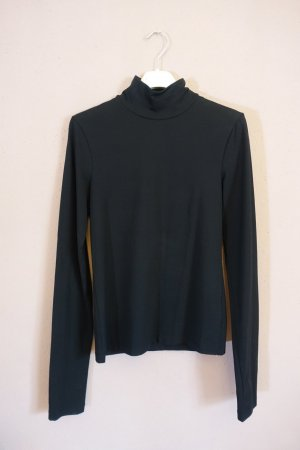 Acne Studios Koszulka z golfem czarny Bawełna