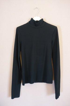 Acne Studios, Valeria C, Longlseeve, Langarm Shirt, kleiner Stehkragen, Basic, Oberteil