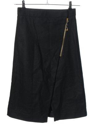 Acne Studios Wraparound Skirt black casual look