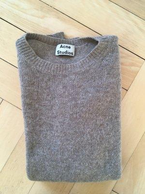 Acne Maglione di lana beige