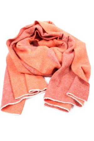 Acne Studios Bufanda de lana rojo-naranja claro look casual