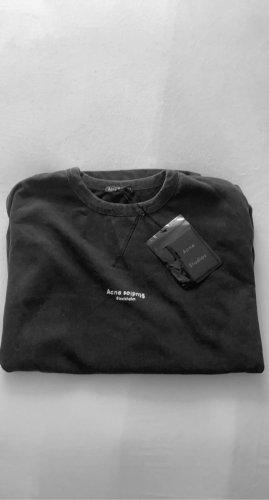 Acne Jersey holgados negro-gris oscuro