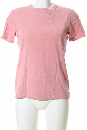 Acne T-Shirt pink meliert Casual-Look