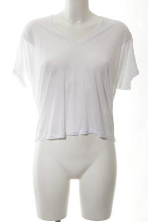 Acne Camiseta blanco look casual