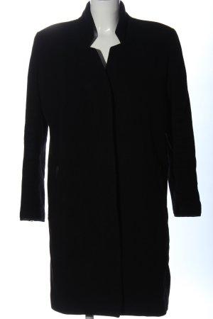 Acne Abrigo de lana negro look casual