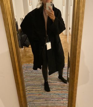 Acne Manteau en laine noir