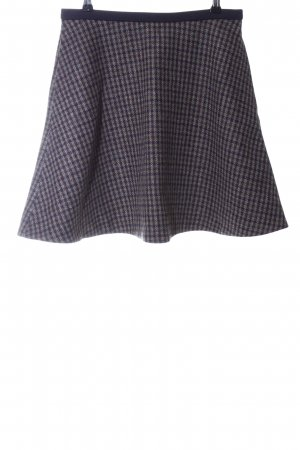 Acne Wool Skirt check pattern business style
