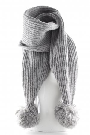 Acne Woolen Scarf grey classic style