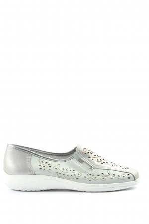Aco Slip-on Shoes light grey casual look