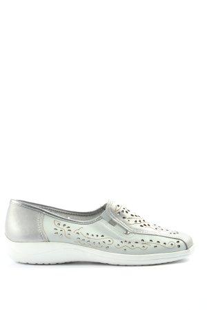 Aco Scarpa slip-on grigio chiaro stile casual