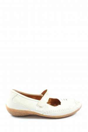 Aco Slip-on Shoes white casual look