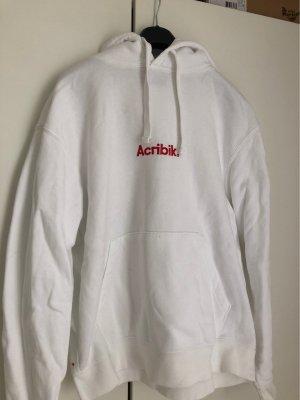 Acribik Hoodie in weiß in Größe M