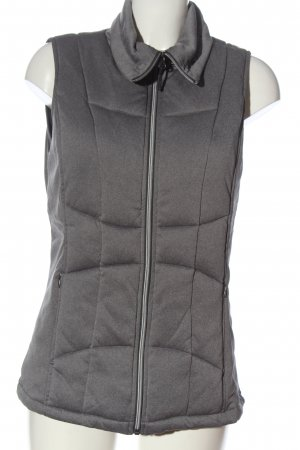 active by Tchibo Down Vest light grey quilting pattern casual look