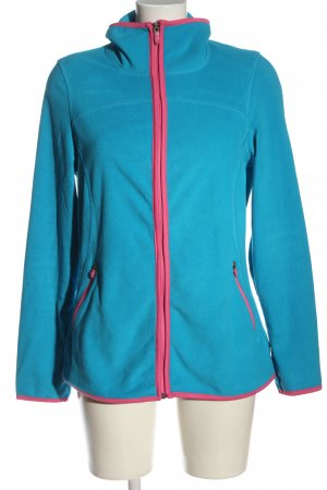 active by Tchibo Giacca in pile blu-rosa stile casual