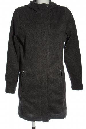 active by Tchibo Coarse Knitted Jacket light grey flecked simple style