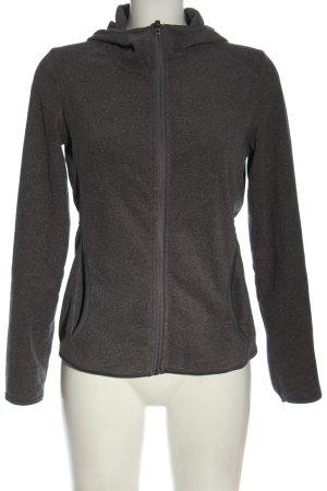 active by Tchibo Hooded Sweatshirt light grey flecked elegant