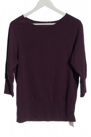 active by Tchibo Kraagloze sweater lila casual uitstraling