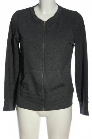 active by Tchibo Sweat Jacket light grey flecked casual look