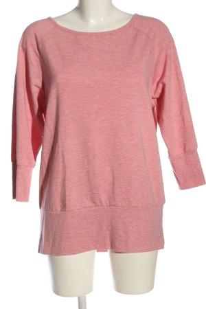 active by Tchibo Sweatshirt roze gestippeld casual uitstraling
