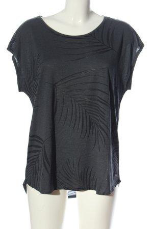 active ESSENTIALS by TCHIBO T-shirts en mailles tricotées gris clair-noir