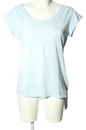 active ESSENTIALS by TCHIBO Camiseta azul moteado look casual