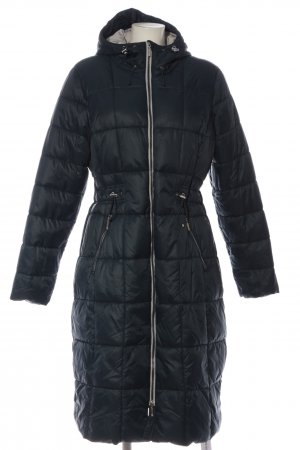 active Long Jacket blue quilting pattern casual look