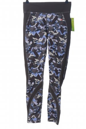 active Leggings estampado con diseño abstracto look casual