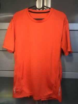 active Camisa deportiva naranja-color plata