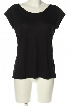 active Camiseta negro look casual