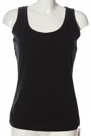 active Camiseta sin mangas negro look casual