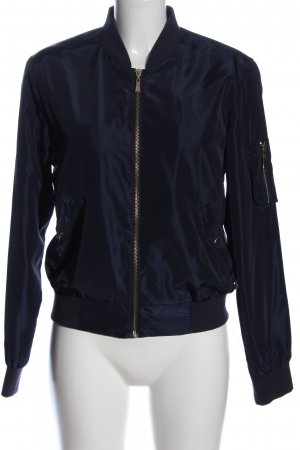 Active USA Chaqueta bomber azul look casual