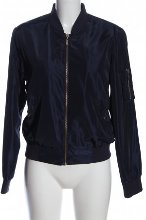 Active USA Giacca bomber blu stile casual